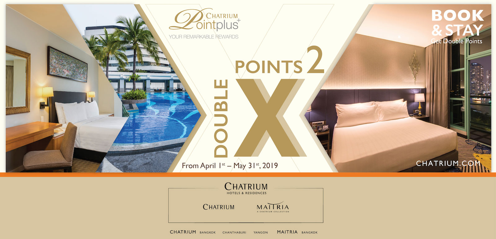 Book now get double points